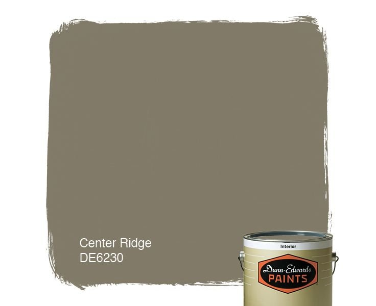 Dunn Edwards Paints paint color Center Ridge DE6230 Click for a 736x600