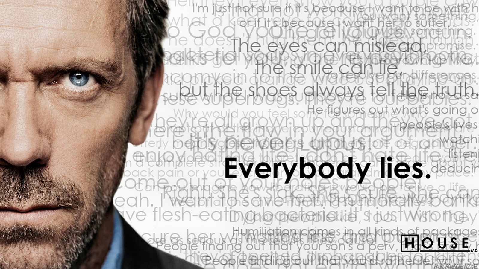 Dr House Wallpaper 1600x900 Dr House Hugh Laurie House MD 1600x900