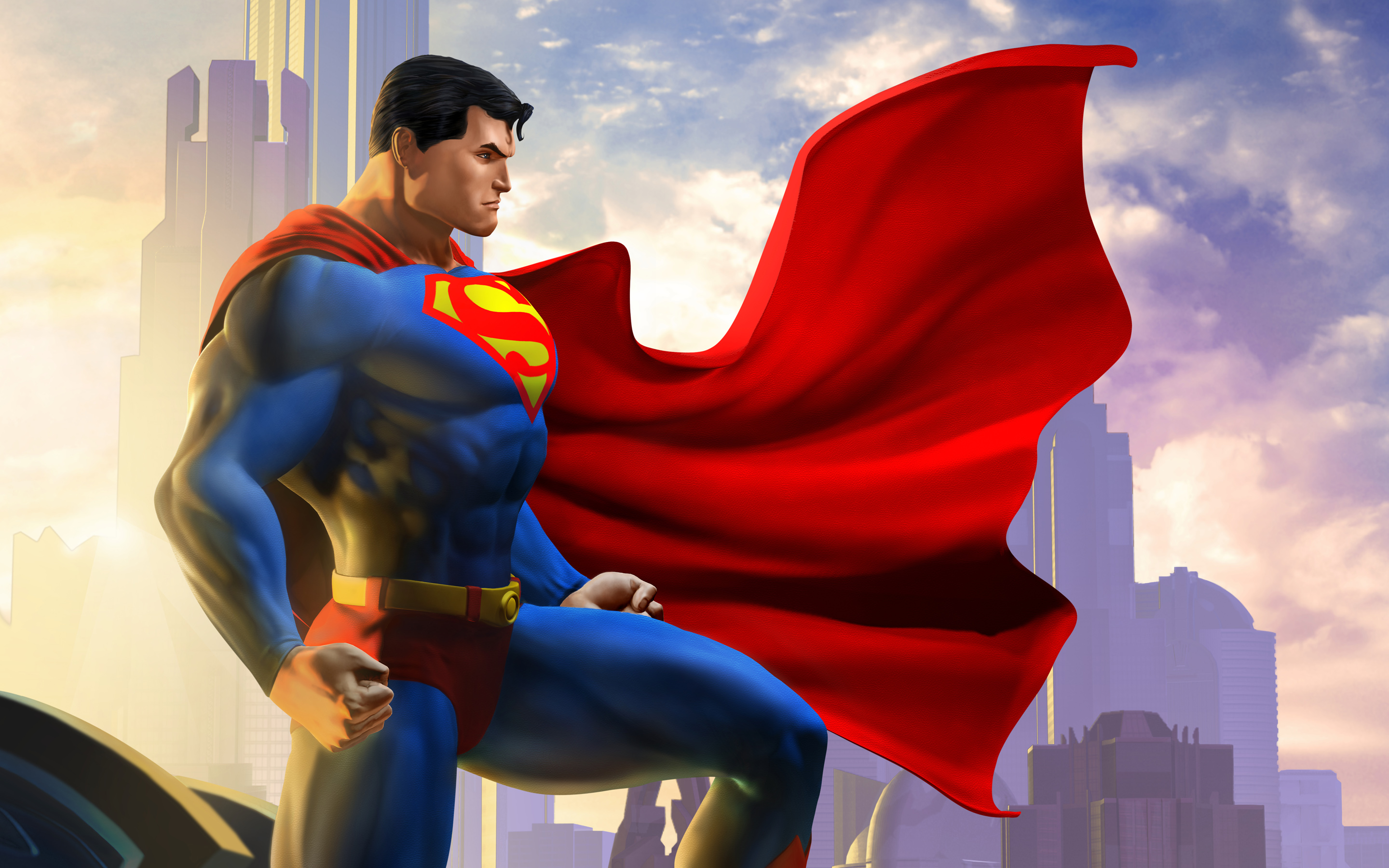 Superman DC Universe Online Wallpapers HD Wallpapers 2880x1800
