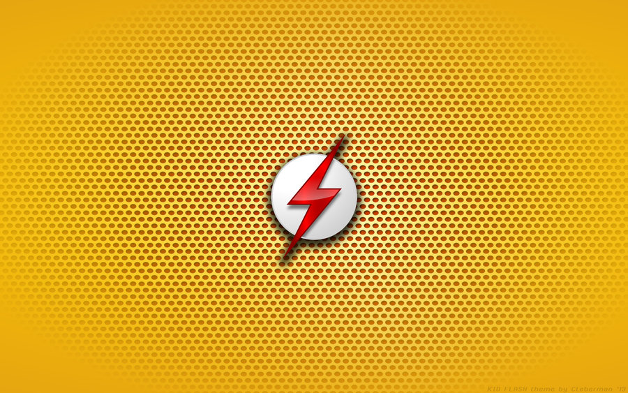 Wallpaper   Kid Flash Young Justice Logo by Kalangozilla 900x563