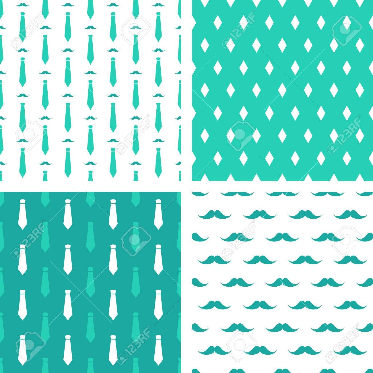 Vector Hipster Patterns Set Of Printable Seamless Fashion 1300x1300