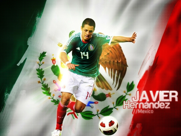 Mexicosoccer soccer mexico javier hernandez 1280x960 wallpaper 600x450