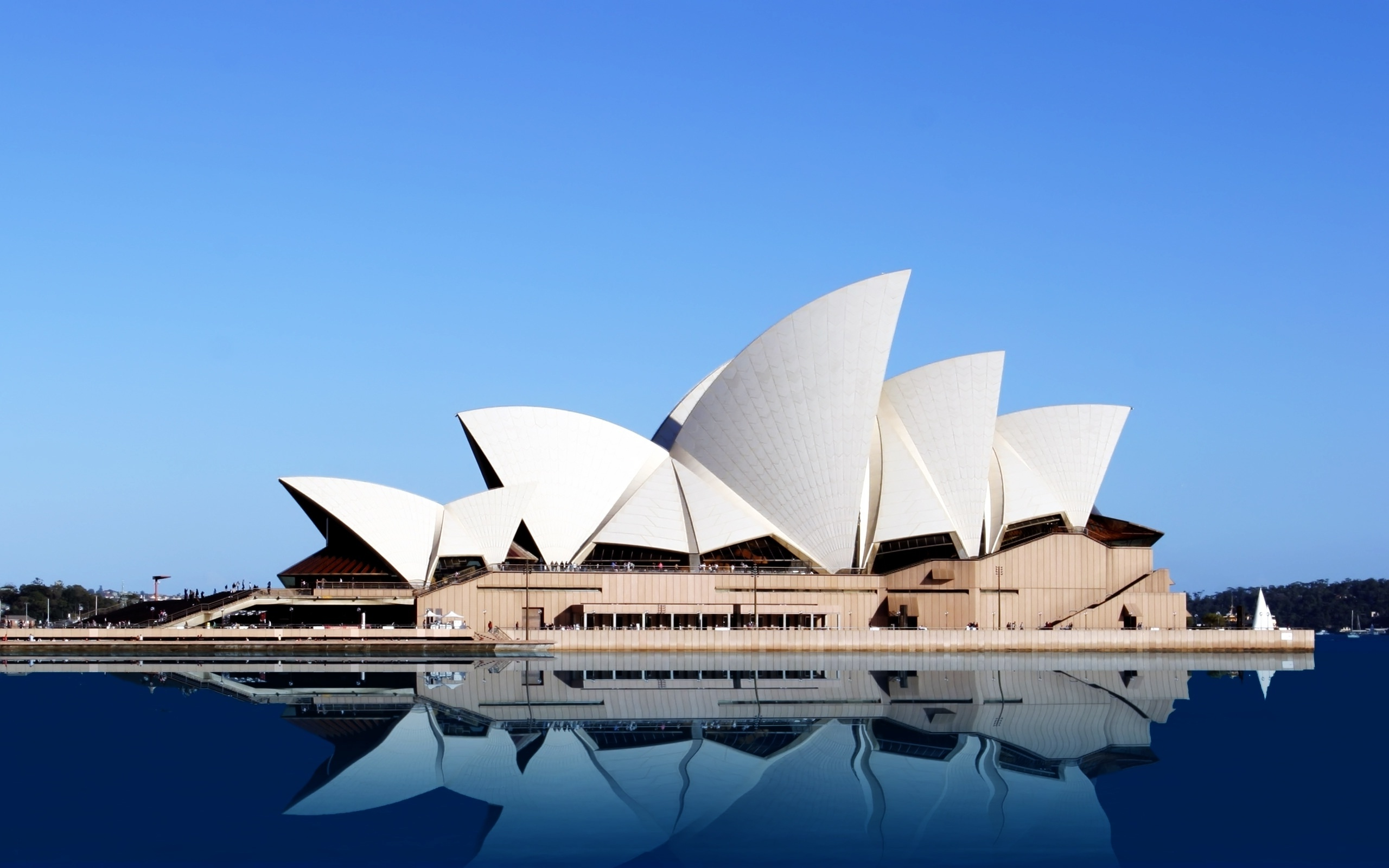 Sydney Opera House At Night With Fireworks   wallpaper 2560x1600