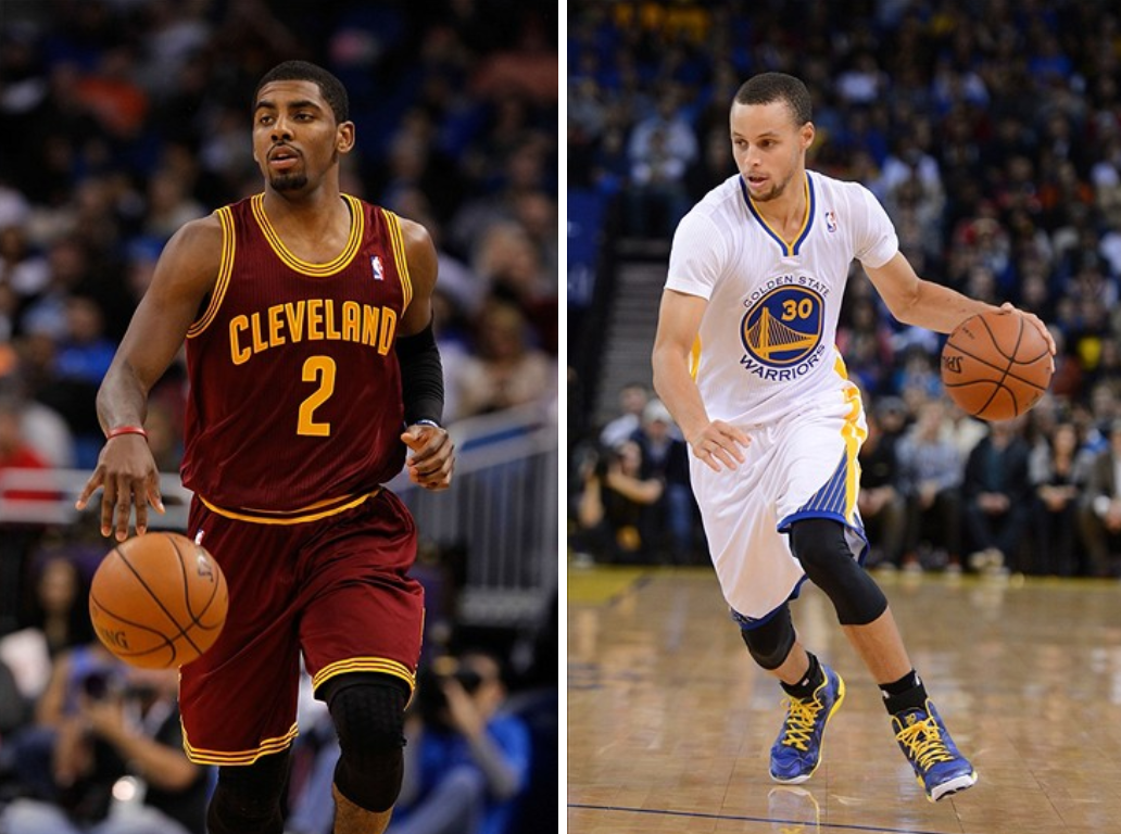 Stephen Curry and Kyrie Irving are two of the leagues best and 1032x768