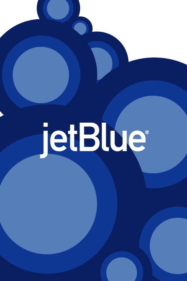 JetBlue Dots Blue juice Airline travel Commercial aircraft 640x960