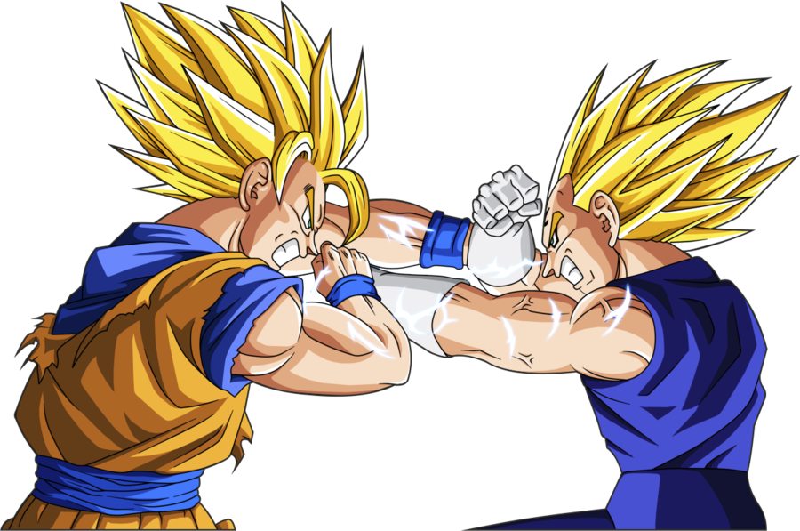 Wallpaper Hd Dragon Ball Goku Vs Vegeta ALOjamiento De IMgenes