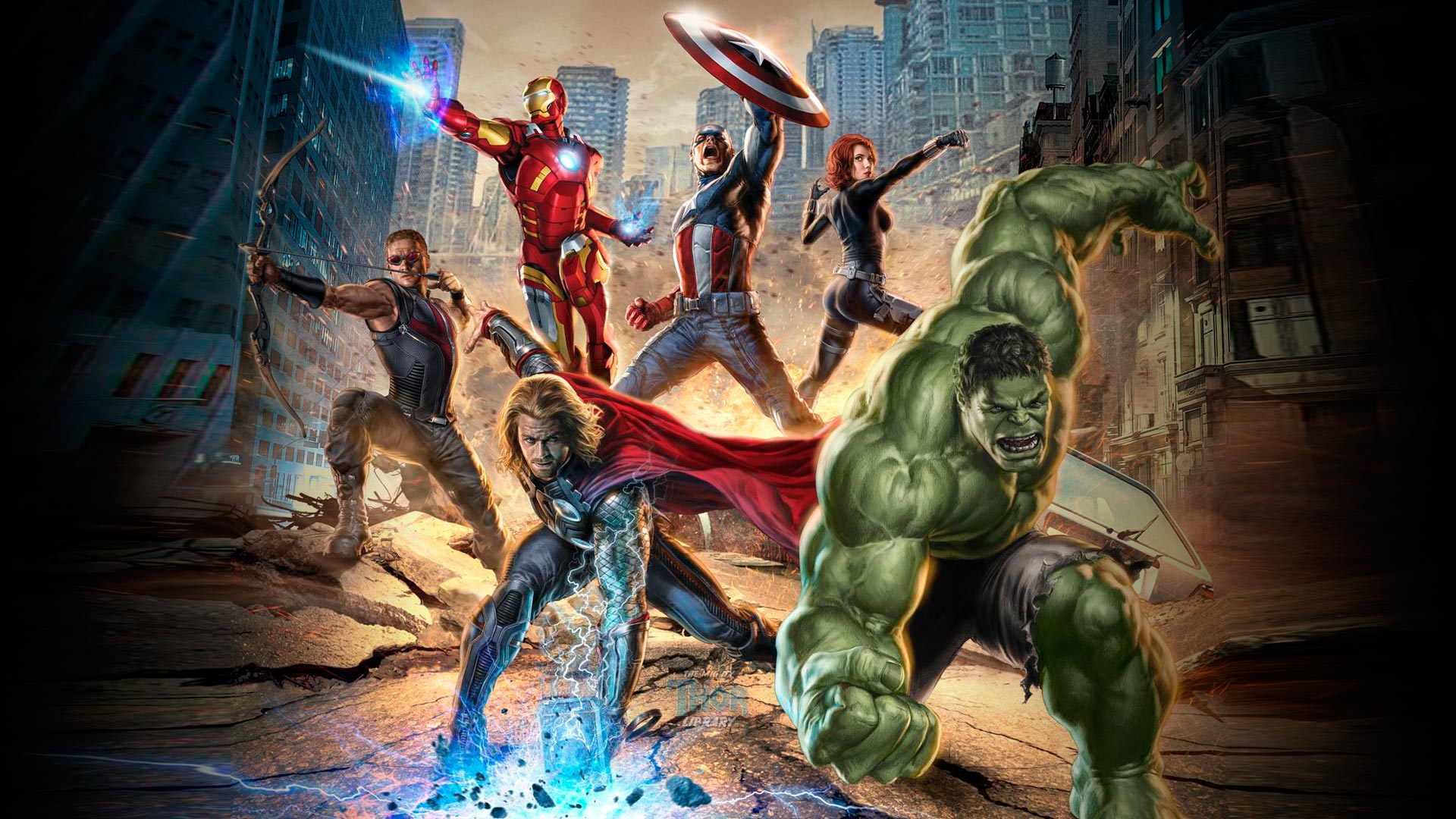 Superhero Gallery Library Incredible Movie Avengers wallpapers HD 1920x1080