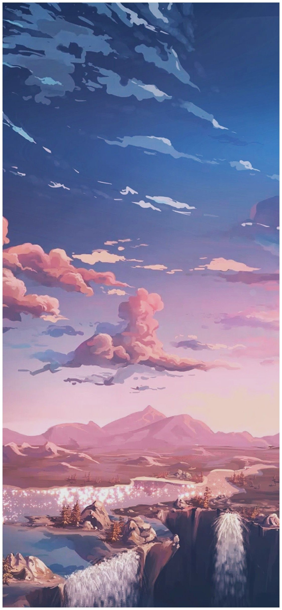 Aesthetic Pink Anime Wallpapers   Top Aesthetic Pink Anime 1125x2436