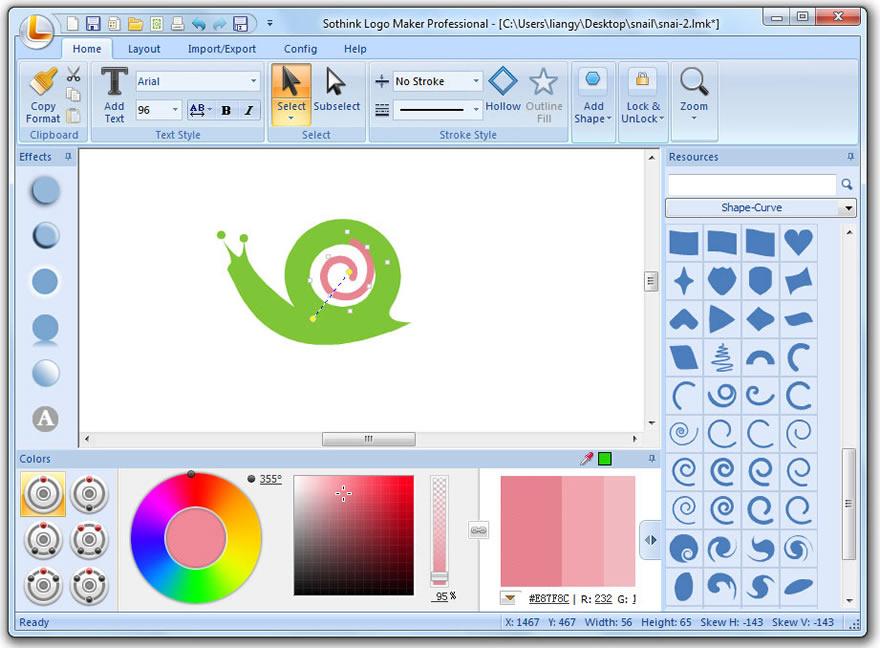 Free Download Design Letter Logo Guide Sothink Logo Maker