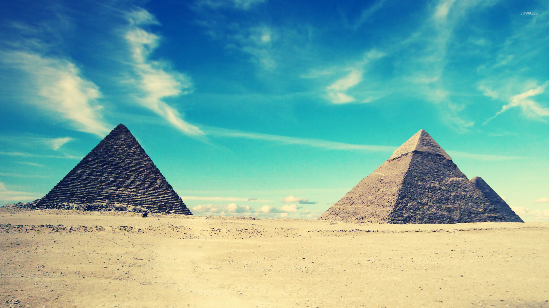 Egyptian pyramids wallpaper   World wallpapers   16365 1920x1080