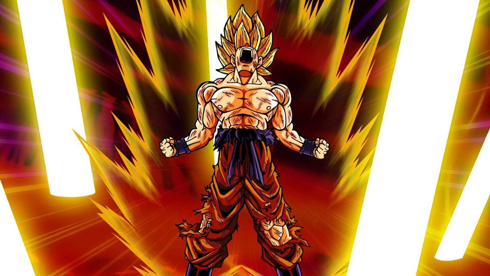 Goku Super Saiyan Wallpaper 72 images 1920x1080