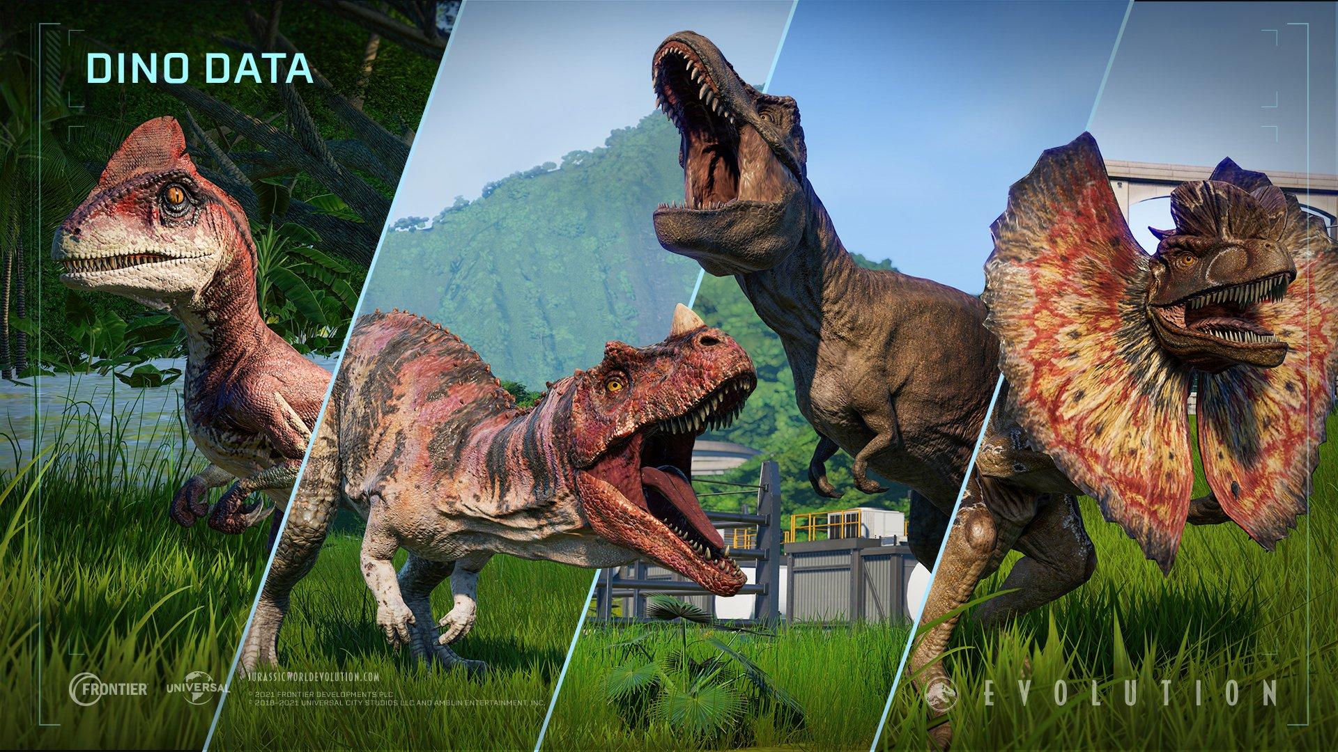 Jurassic World Evolution 2 on Twitter Besides the Velociraptor 1920x1080
