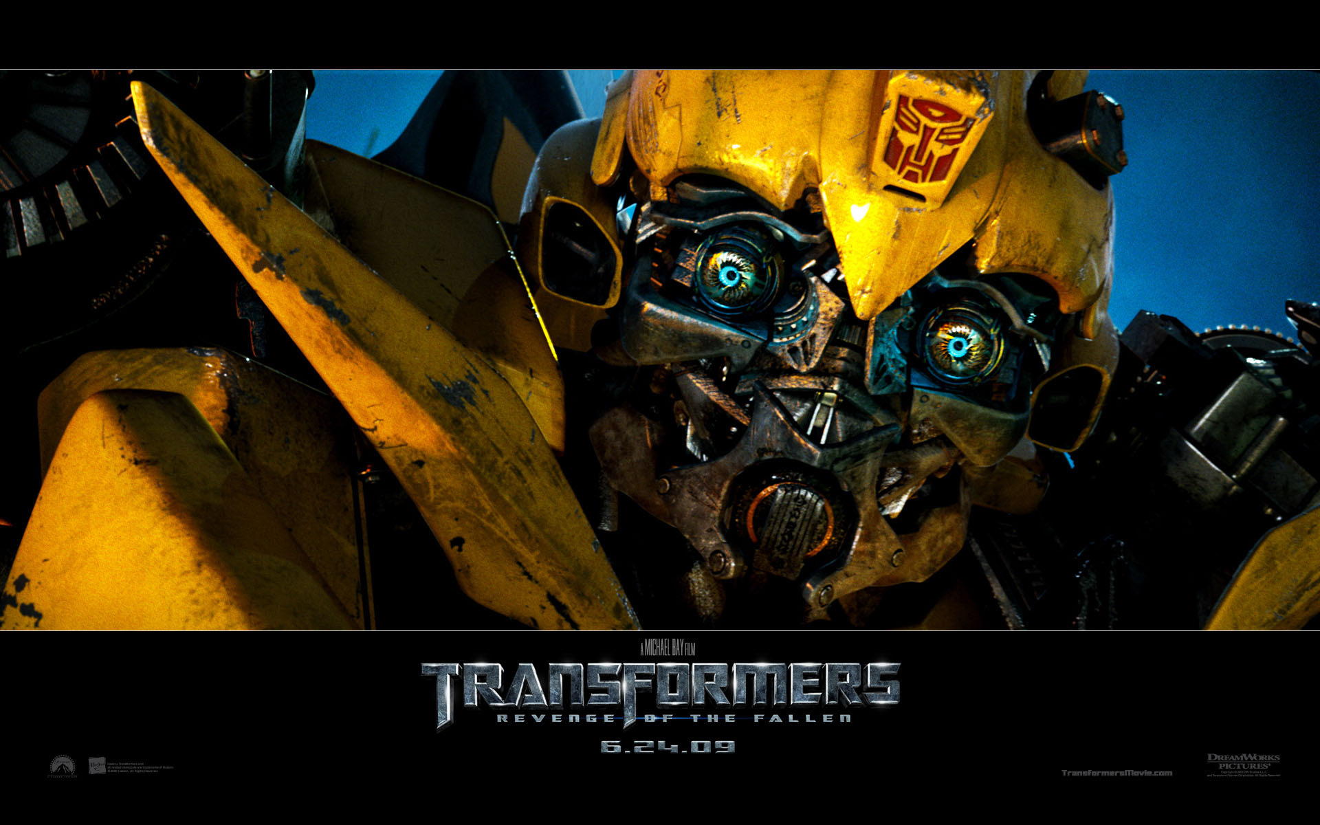 Bumble Bee in Transformers Revenge of the Fallen wallpaper   Click 1920x1200