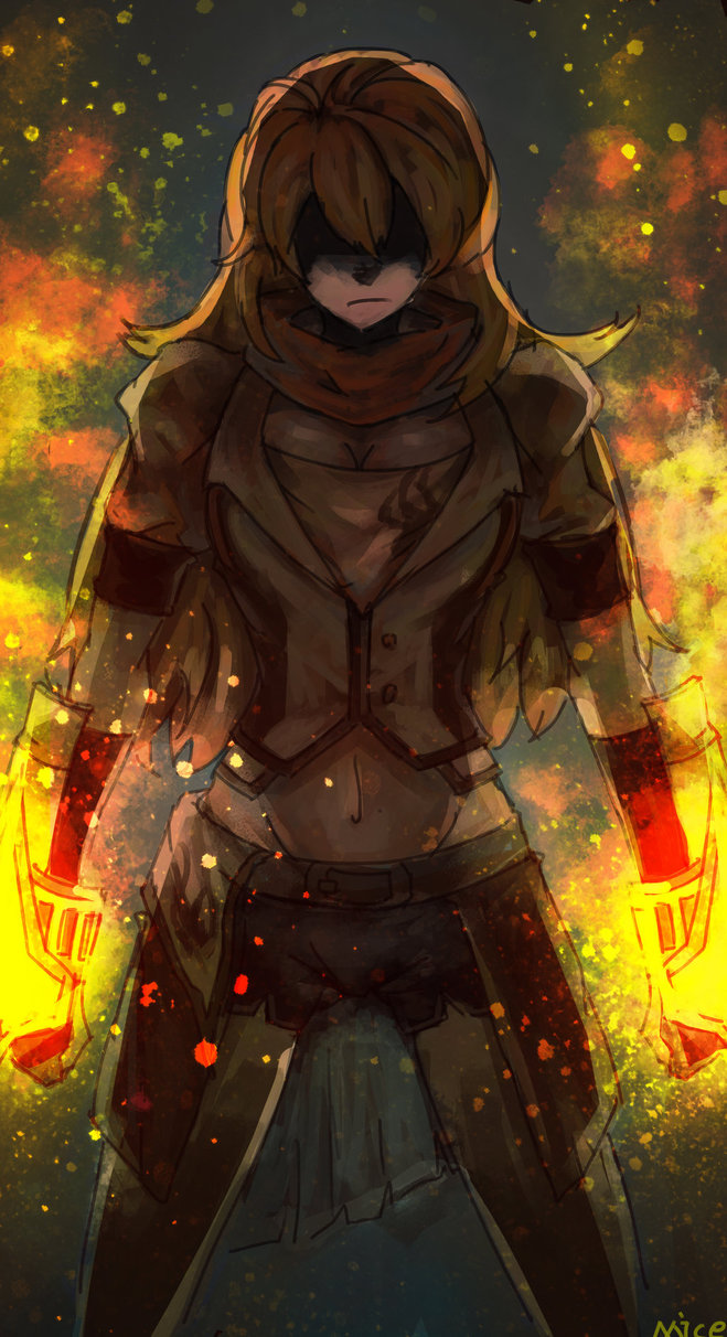 RWBY Feature by Vyctorian 659x1212