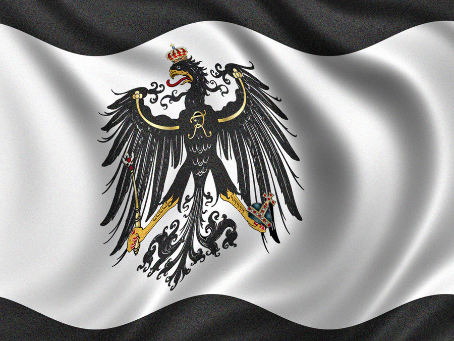 3x5 kingdom of prussia flag germany banner prussian german - 900×675