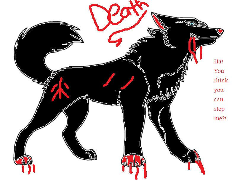 Badass Wolf Wallpapers Death Mean Yet Badass Wolf by 783x611