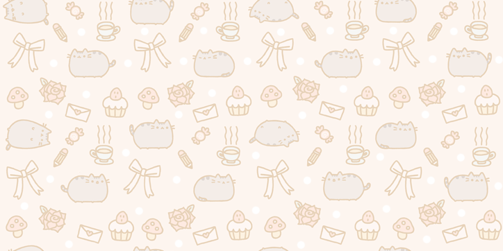 Wallpaper Pusheen The Cat by 010LuchiiEditions 724x362