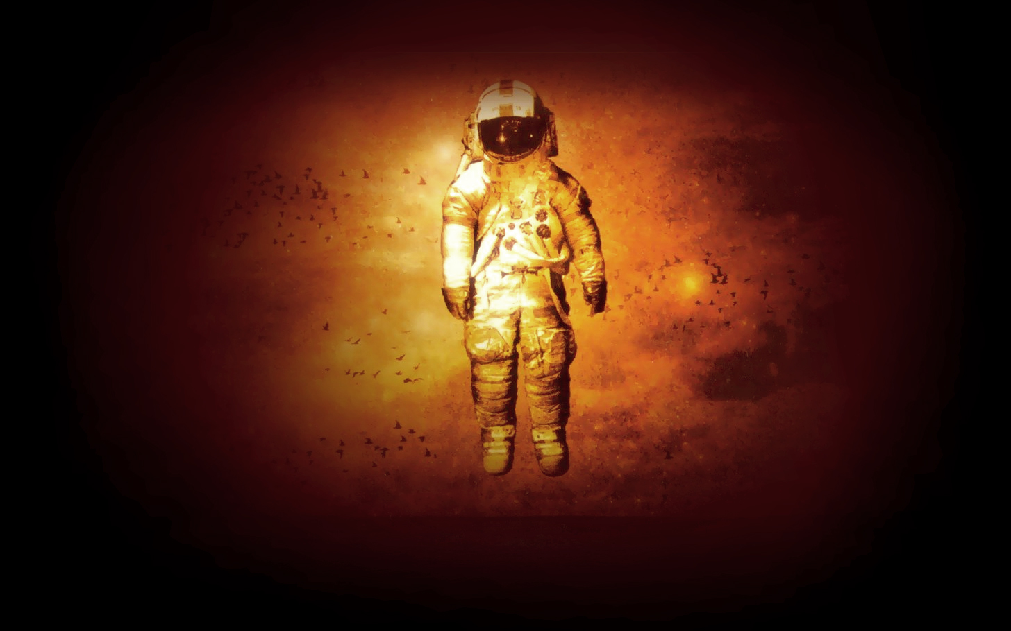 astronauts brand new deja astronaut HD Wallpaper   Companies Brands 1456x910
