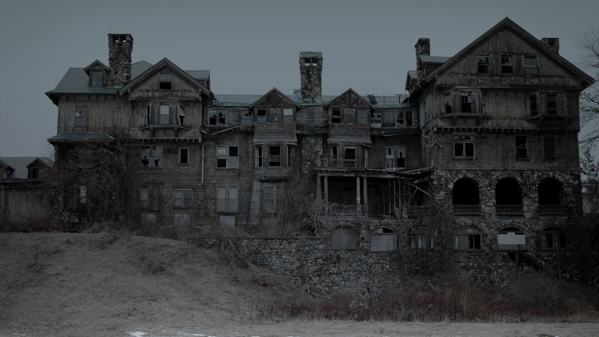 abandoned mansion wallpaper - photo #1