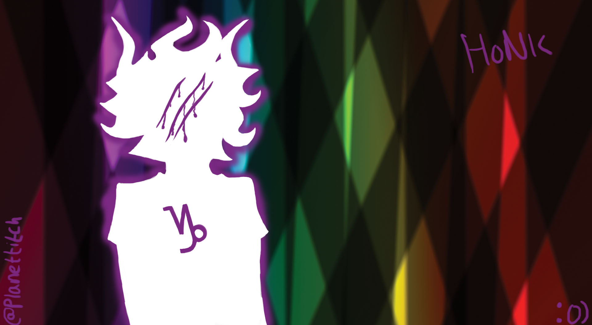 Homestuck Sober Gamzee Wallpaper by PlanetTitch on DeviantArt