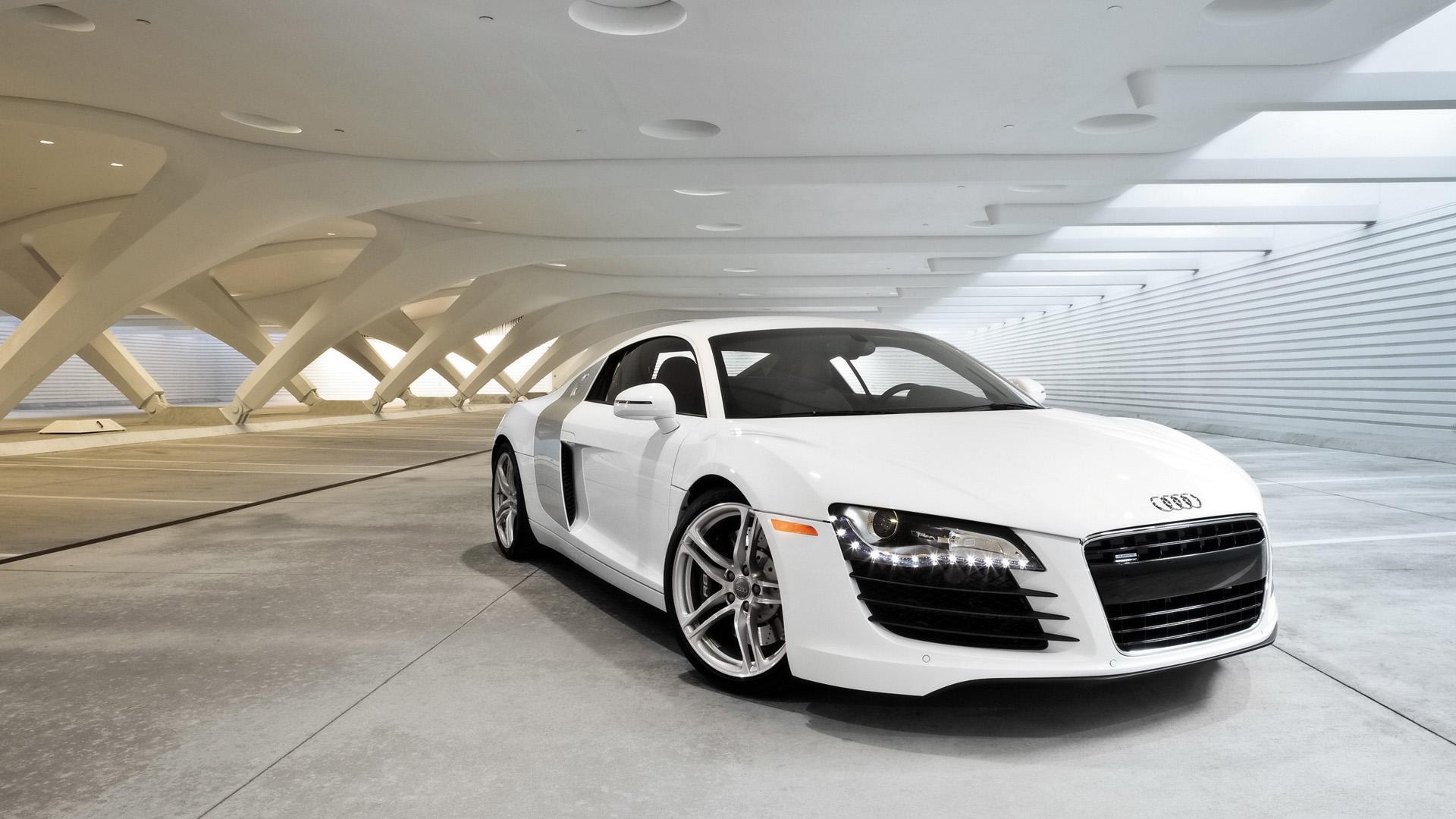 White Audi R8   1920x1080   169 1920x1080