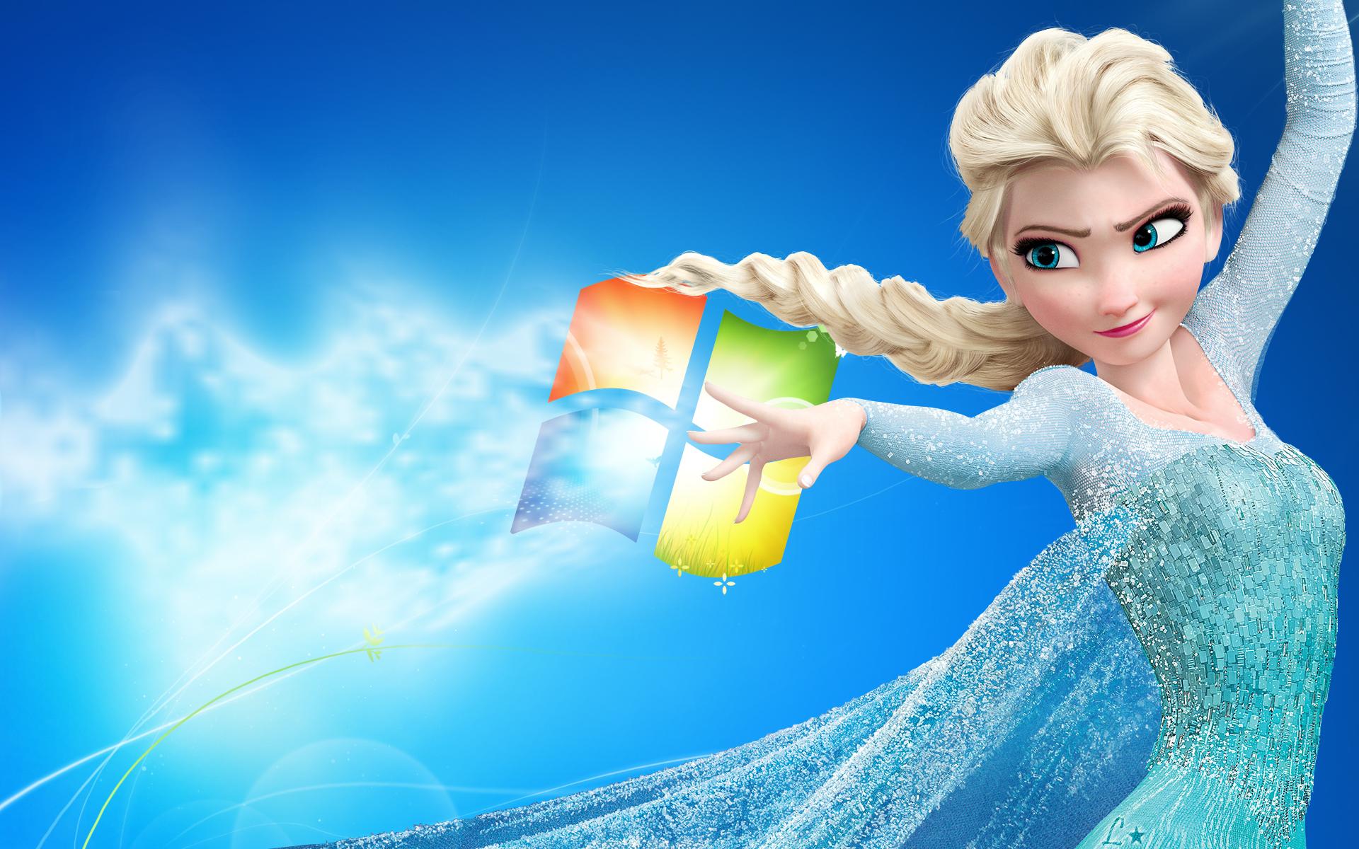 Disney Frozen   Windows Background by Bottlle 1920x1200