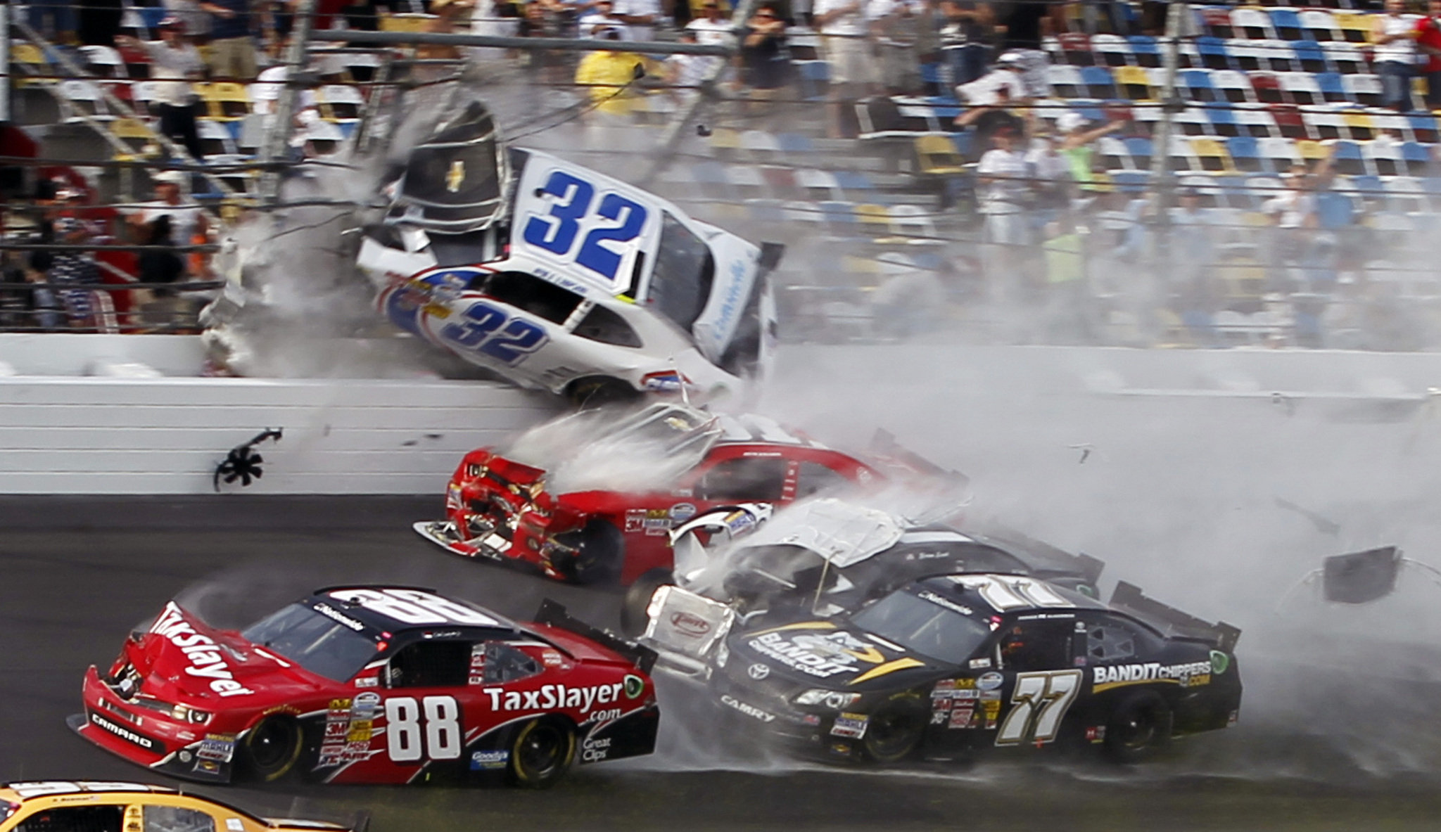 cars accident wreck track disaster sports stock wallpaper 2048x1183 2048x1183