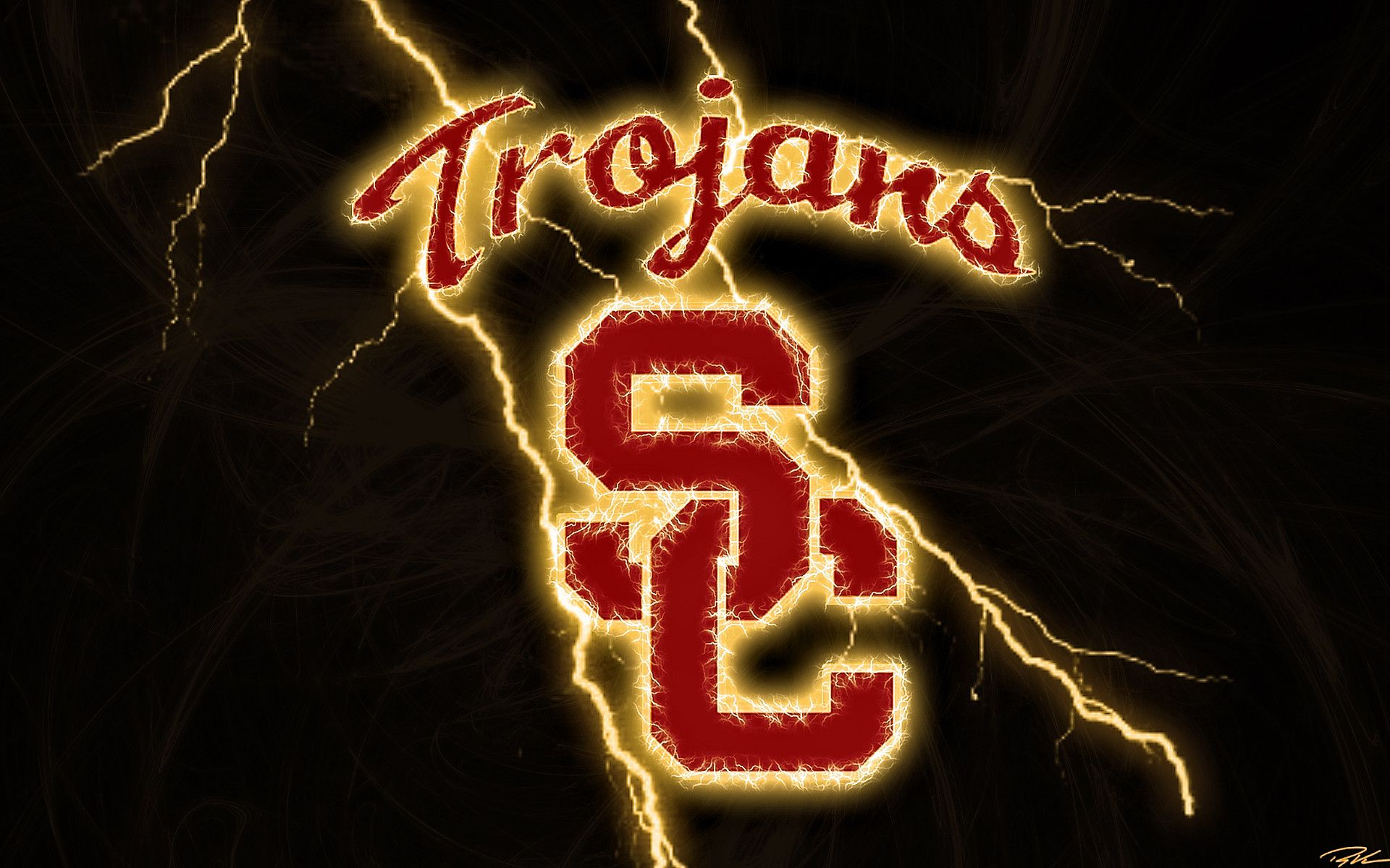Download Usc Football Backgrounds 1920x1200