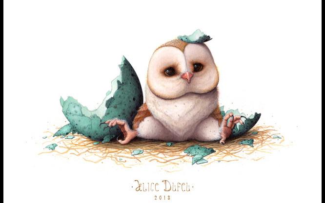 50 Cute Cartoon Owl Wallpaper On Wallpapersafari