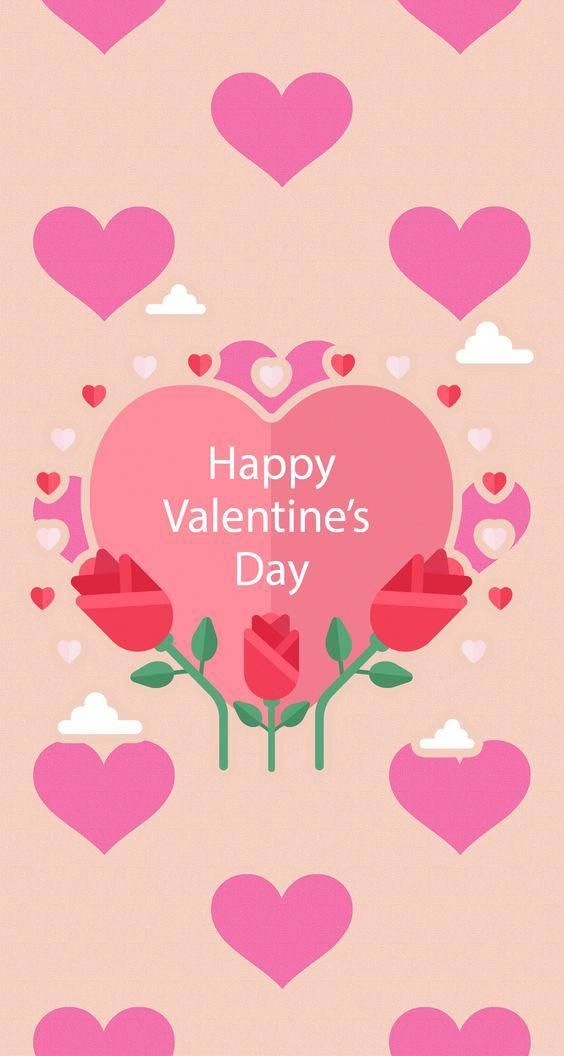 Cute Wallpaper Love Happy Valentines Day   564x1056 Wallpaper