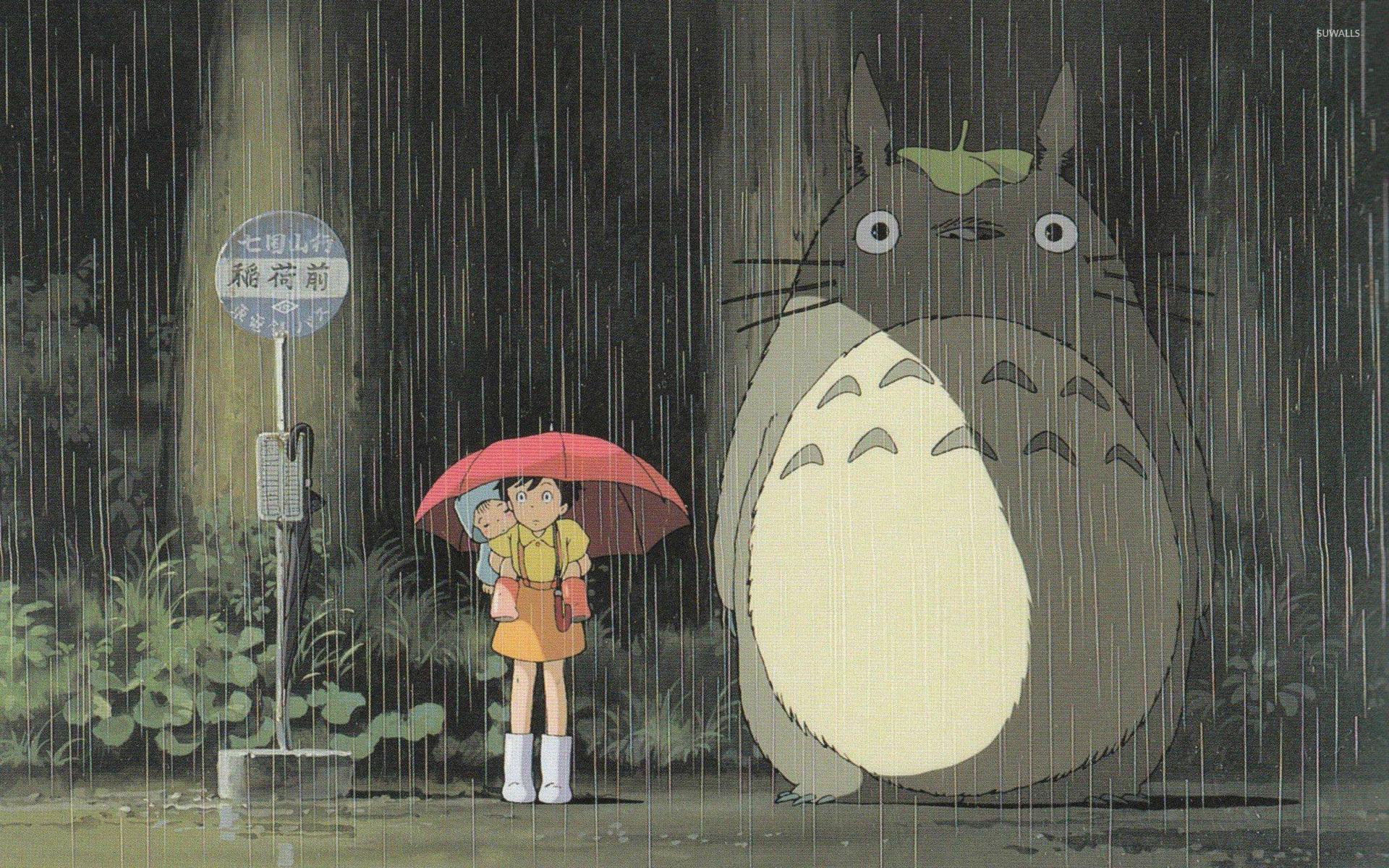 74 My Neighbor Totoro Wallpaper On Wallpapersafari