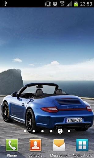 View bigger   Porsche Car Live Wallpaper for Android screenshot 307x512