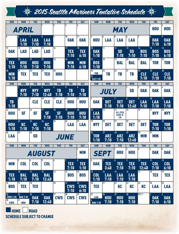 image about New York Yankees Printable Schedule named Seattle Mariners Routine Agencia De Viajes Chihuahua