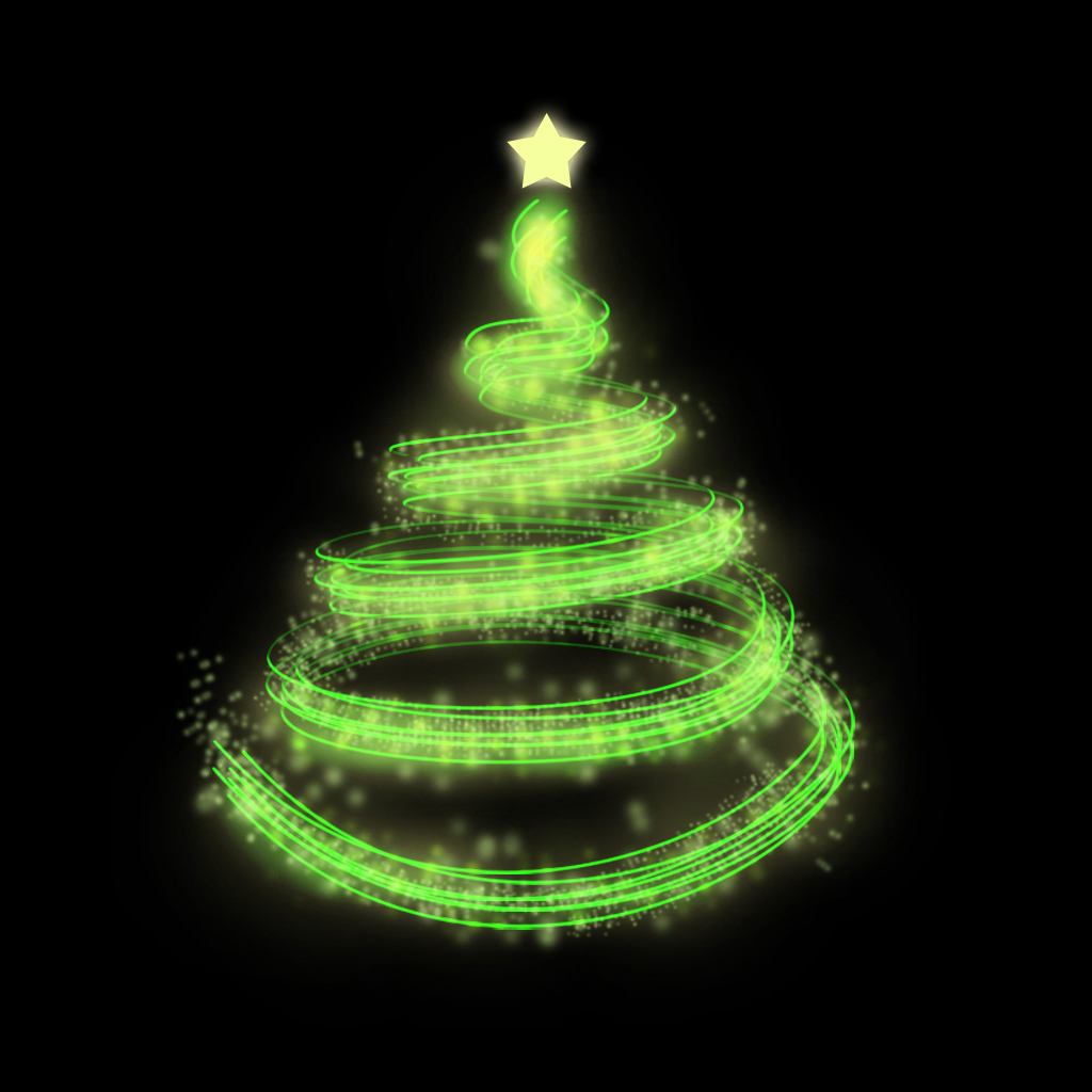 iPad Wallpapers Download Christmas Tree iPad mini Wallpapers 1024x1024