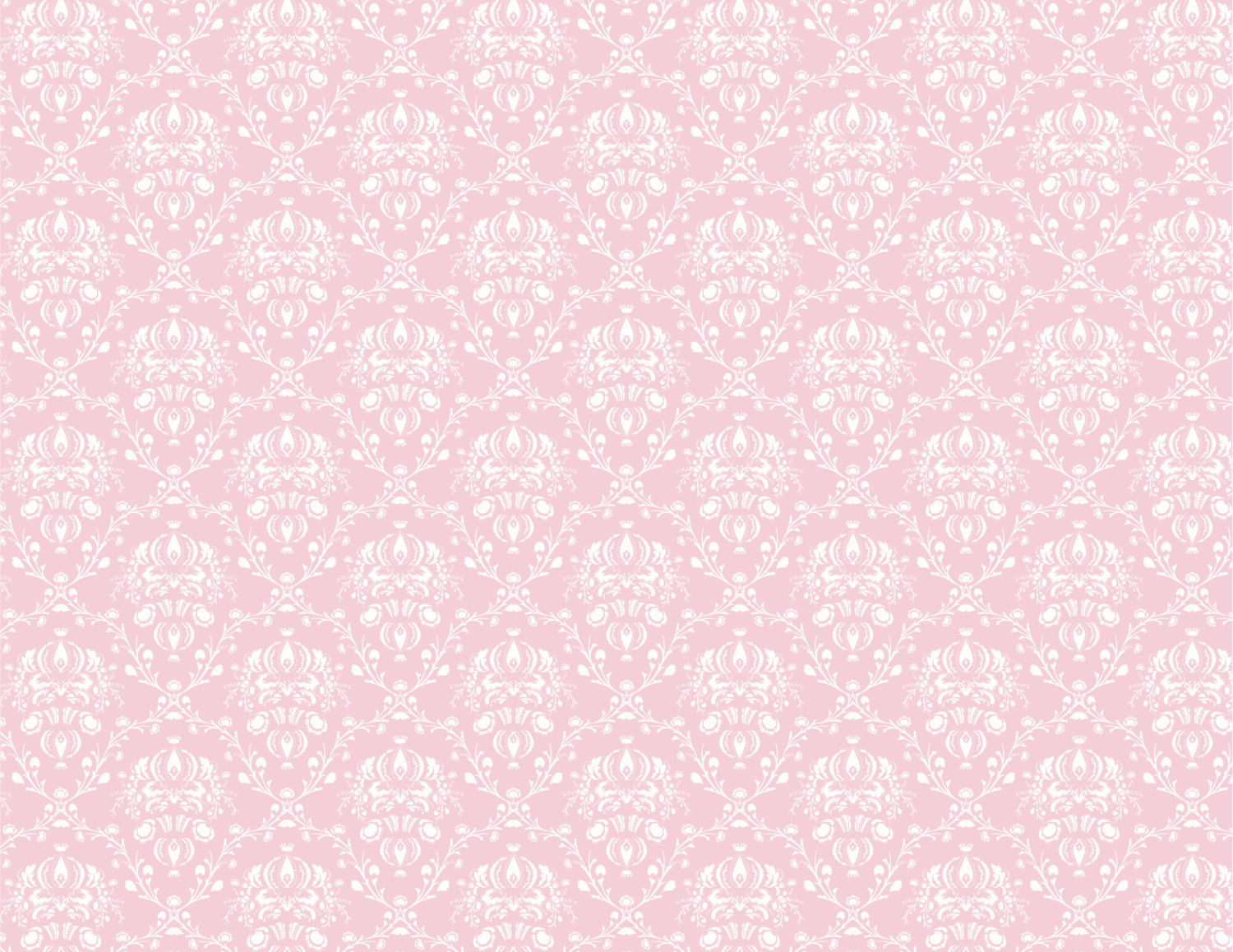 Pink White and Ivory Damask Background Sheets by APartyStudio 1500x1158