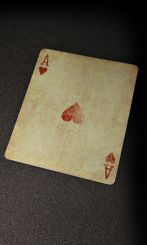 Playing Cards Wallpaper 123mobileWallpaperscom 480x800