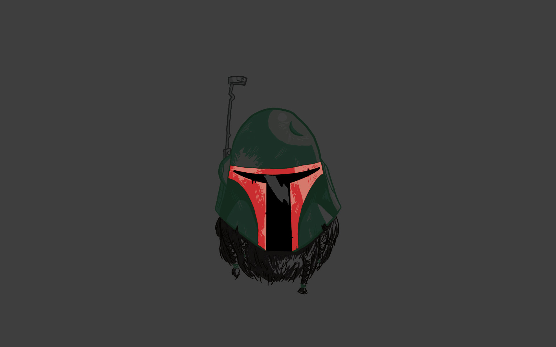 Bearded Boba Fett Wallpaper by Affubalator 1920x1200