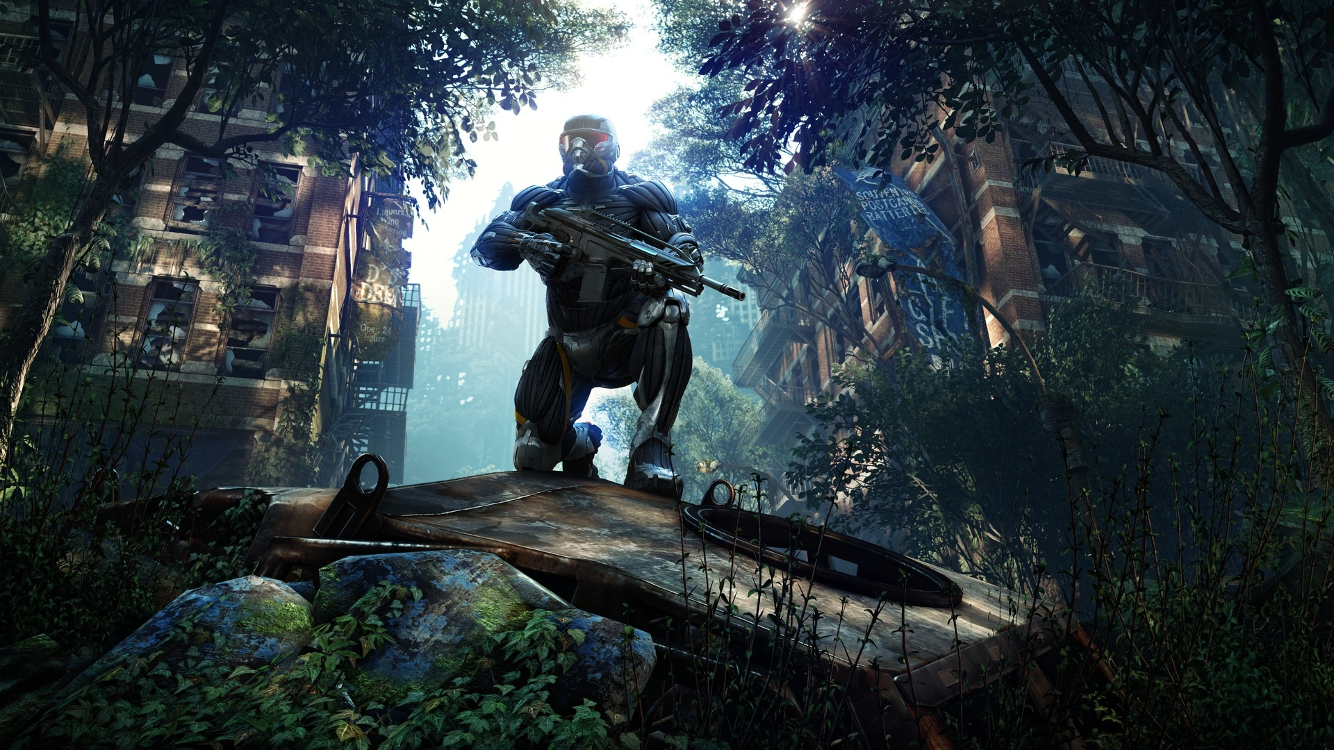 Fun In The World Of Games Hd Wallpapers: Crysis 3 Wallpaper 1920x1080