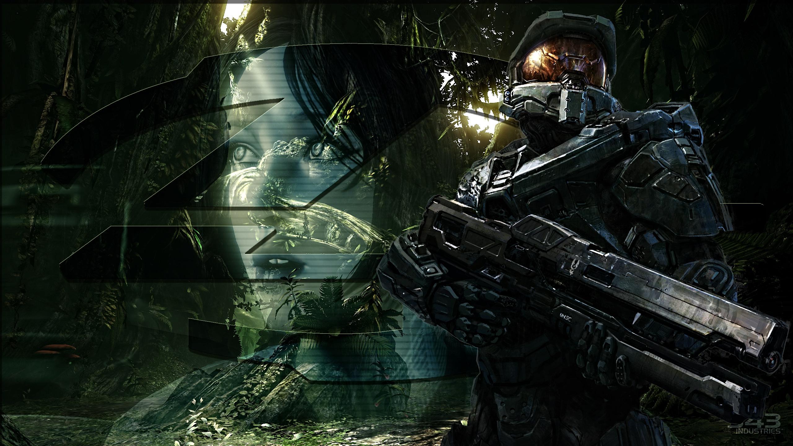 Halo 4 Desktop Wallpaper HD Download 2560x1440