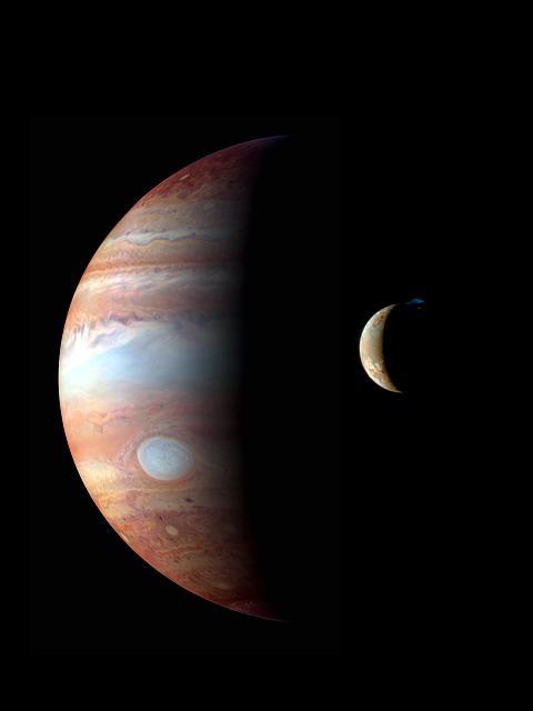 know someone has the Jupiter wallpaper jupiter io montage new 480x640