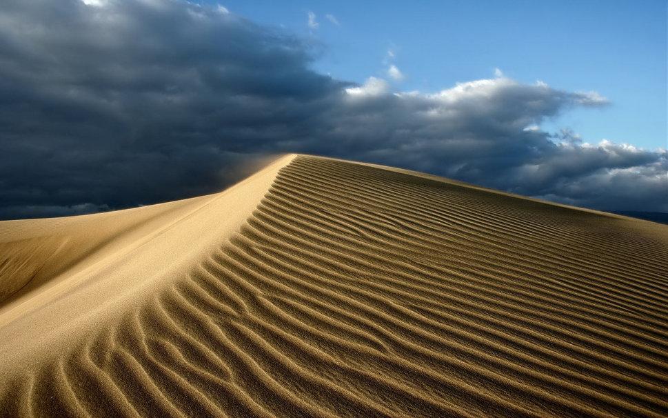 Desert sand clouds and sky the heat wallpaper   ForWallpapercom 969x606