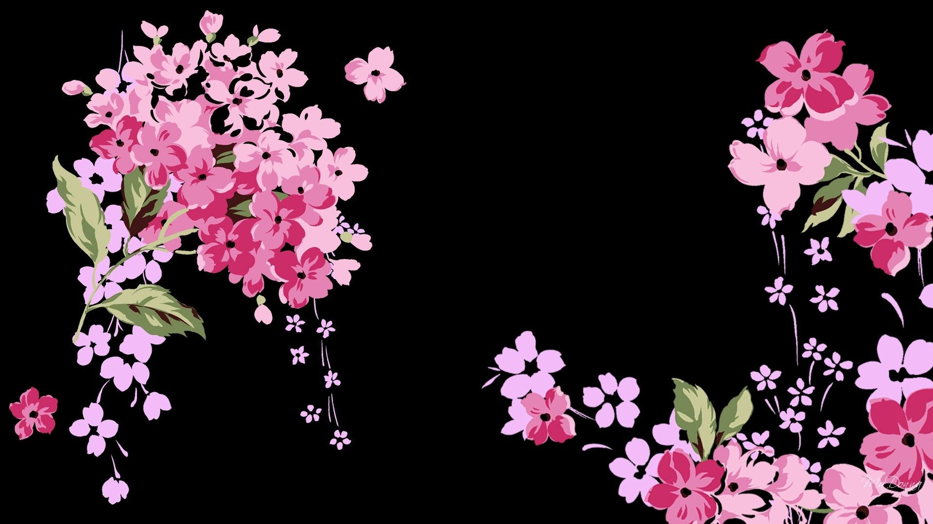 30 Black and Pink Floral Wallpapers   Download at WallpaperBro 1920x1080