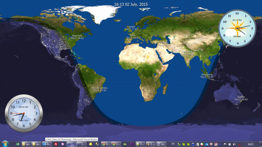 Live World Map Desktop Wallpaper Wallpapersafari