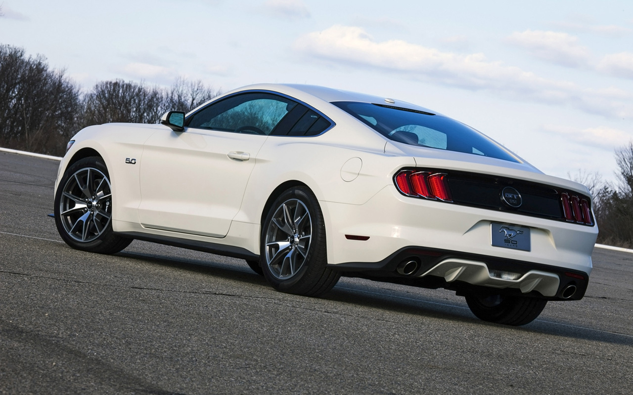 2015 ford mustang gt fastback 50 year limited edition static 8 1280x800