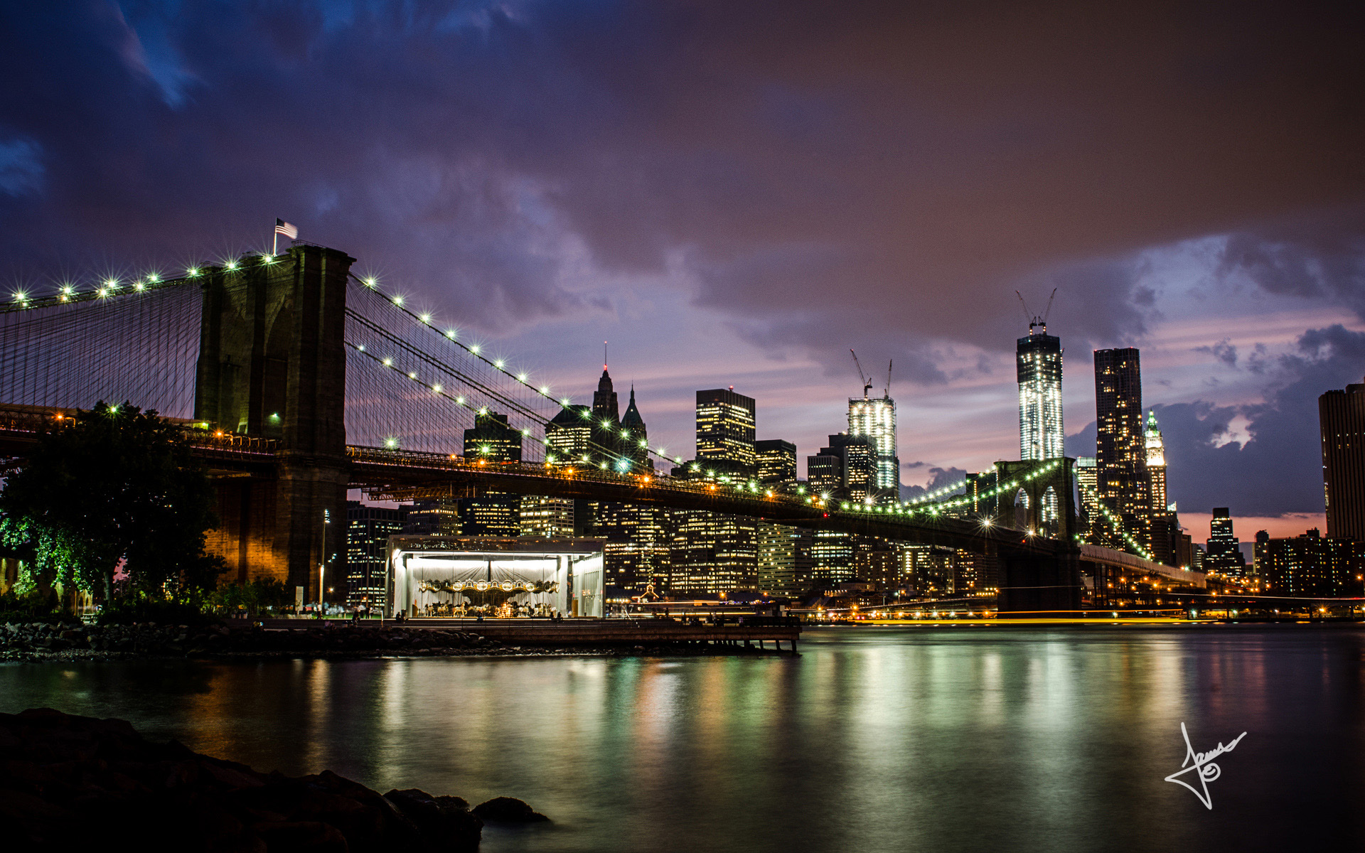 Brooklyn Bridge Manhattan Wallpapers | HD Wallpapers