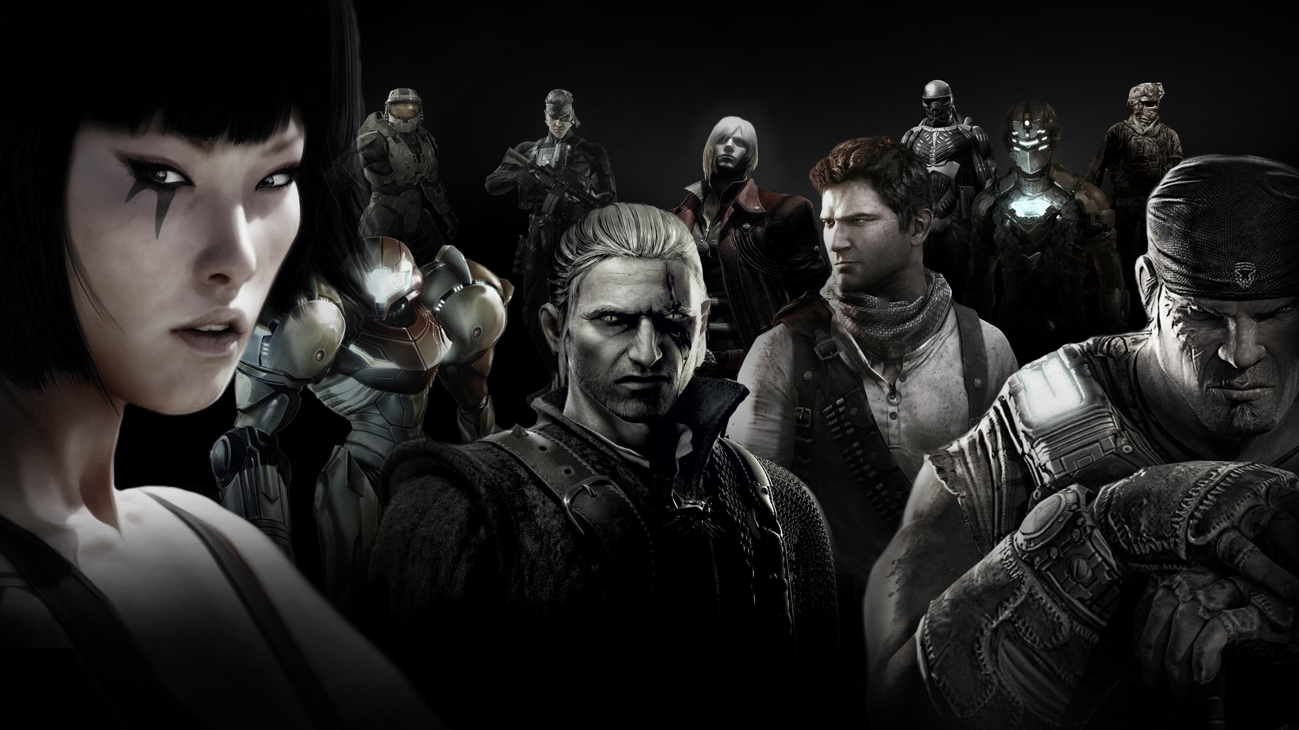 console games wallpapers few game chars looking epic 02jpg 4521x2543