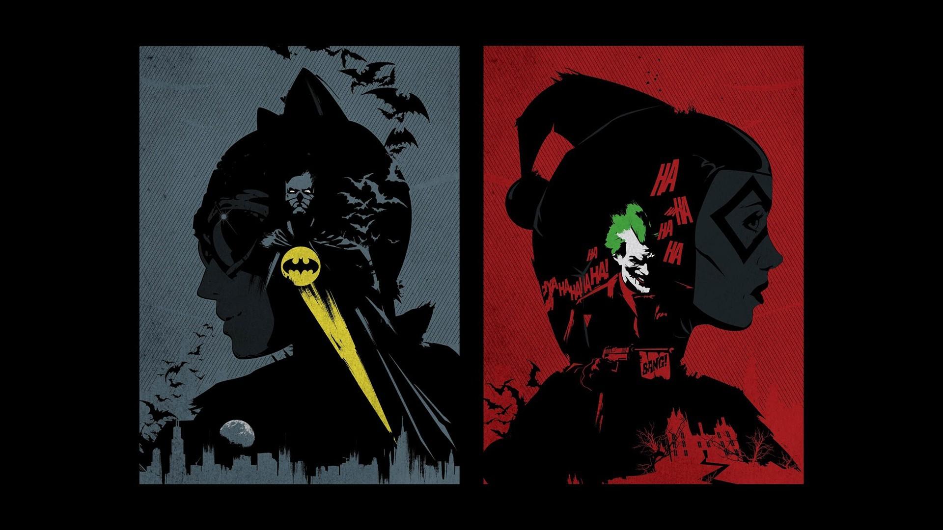 Catwoman vs Harley Quinn wallpaper 14566 1920x1080