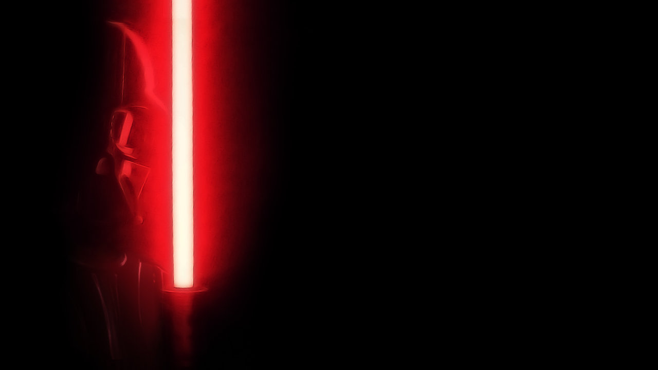 Star Wars: Darth Vader w/ red lightsaber wallpaper by sedemsto on ...
