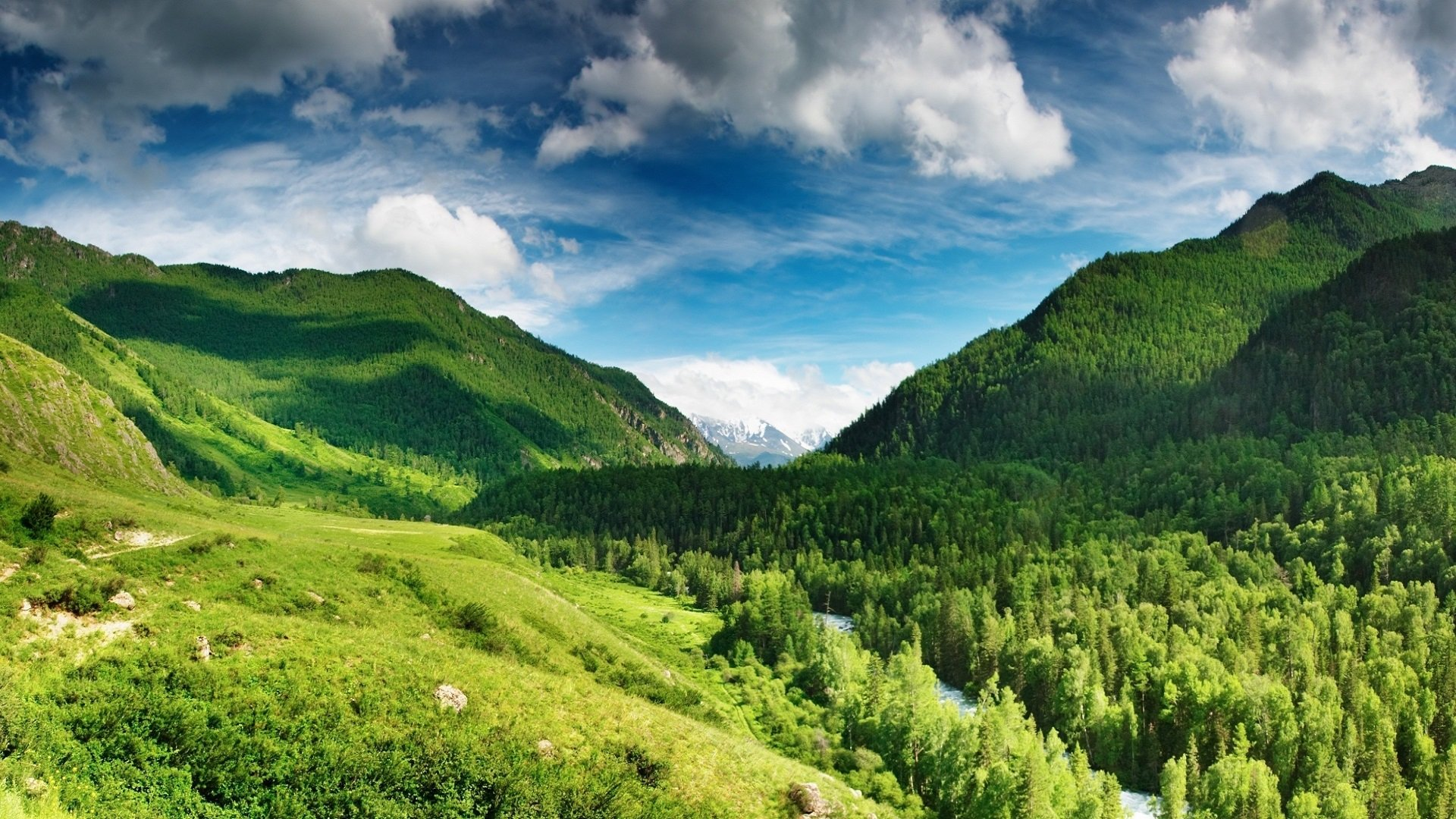 Green Mountains Wallpapers Hd Wallpapers 1920x1080