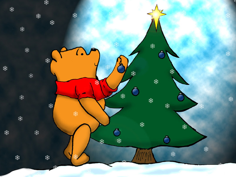 the Pooh Christmas Wallpapers Winnie The Pooh Christmas Wallpaper